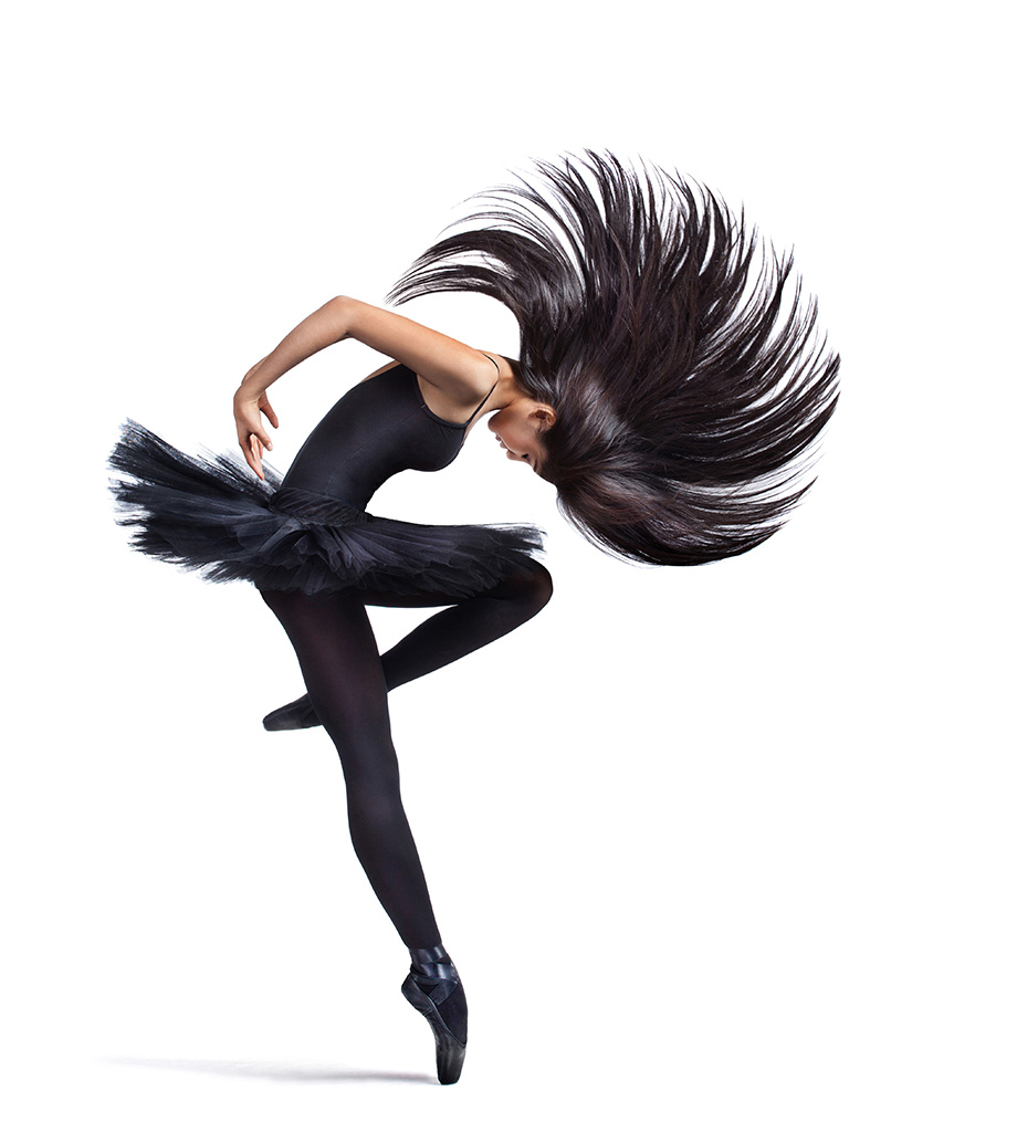 Dancer - Fan Hair