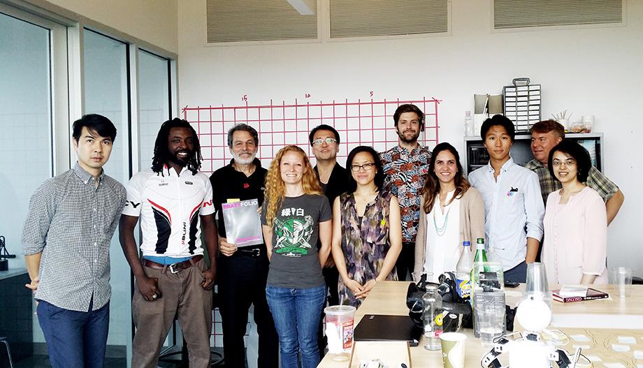 Pratt DAHRC Researechers and e-NABLE Founder Jon Schull