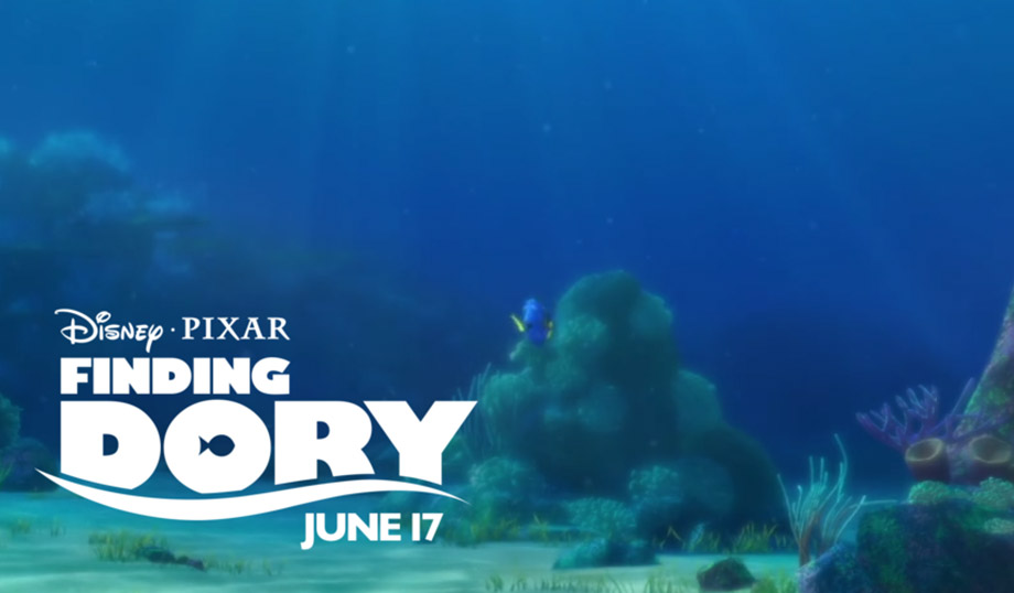 Finding Dory Intro Poster