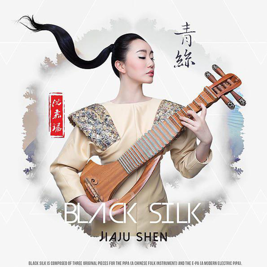 Jiaju - Black Silk Album Cover - Web
