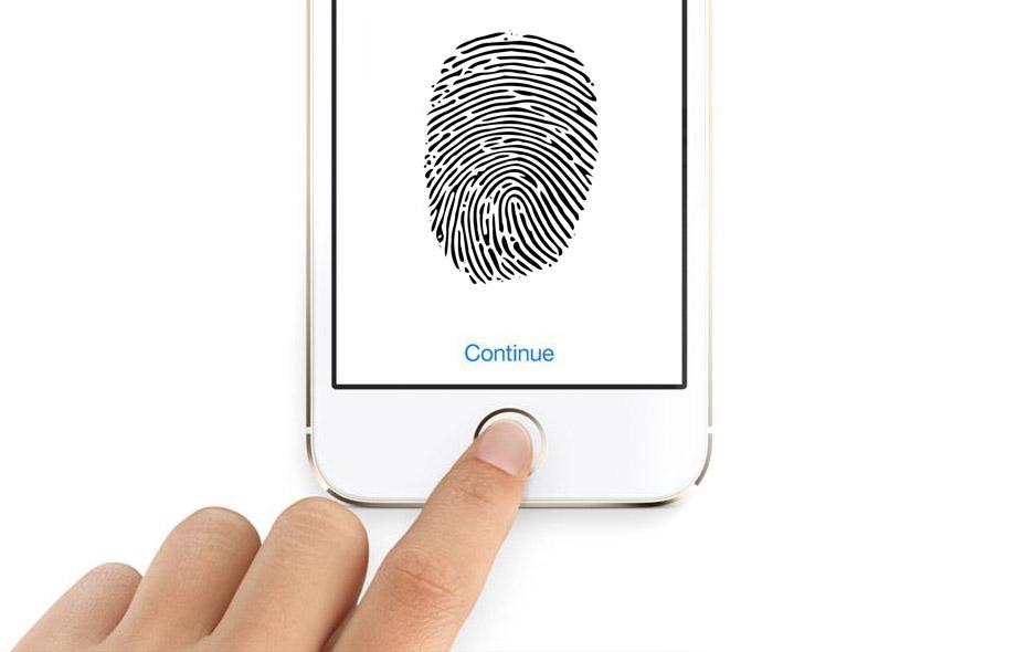 Phone Hand Fingerprint Web
