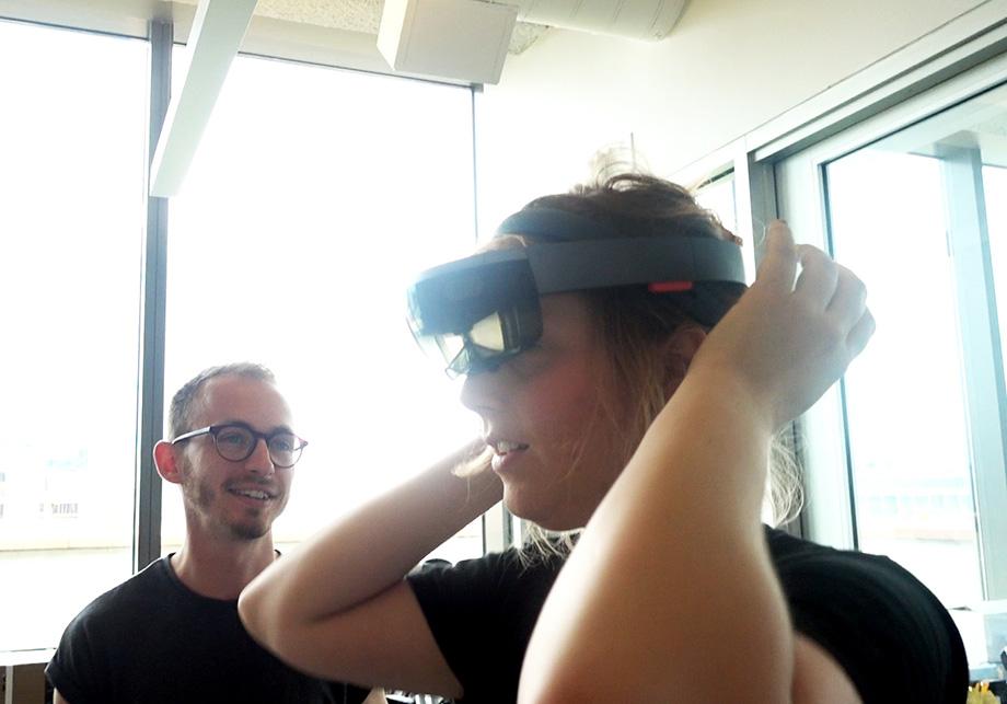 HOLOLENS - DAHRC Researchers - Aaron and Francesca 1 - WEB