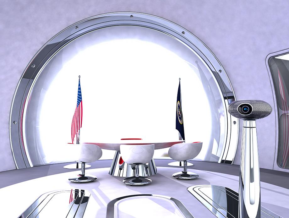 Oval Office - Presidents Desk